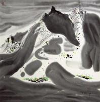 山水 立轴 - 115966 - 中国书画 - 2011金色时光文物艺术品专场拍卖会 -收藏网