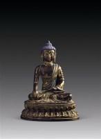 铜泥金佛坐像 -  - 文玩杂项专场 - 2011年秋季艺术品拍卖会 -收藏网