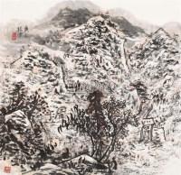 山水 镜片 设色纸本 - 崔振宽 - 当代中国绘画专场 - 河南鸿远首届艺术品拍卖会 -中国收藏网