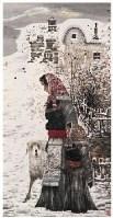 富中奇 鄂温克女猎手 - 15527 - 中国名家书画 - 2007春季中国名家书画拍卖会 -收藏网