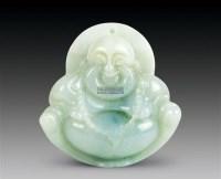 翡翠挂件 -  - 中国玉器杂项专场 - 2011首届秋季拍卖会 -收藏网