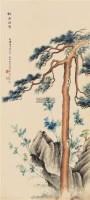 松石间意 立轴 纸本设色 - 6820 - 中国书画专场 - 2011秋季拍卖会 -收藏网