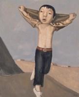段建伟 飞 布面 油画 - 段建伟 - 中国油画 - 2006年秋季拍卖会 -收藏网