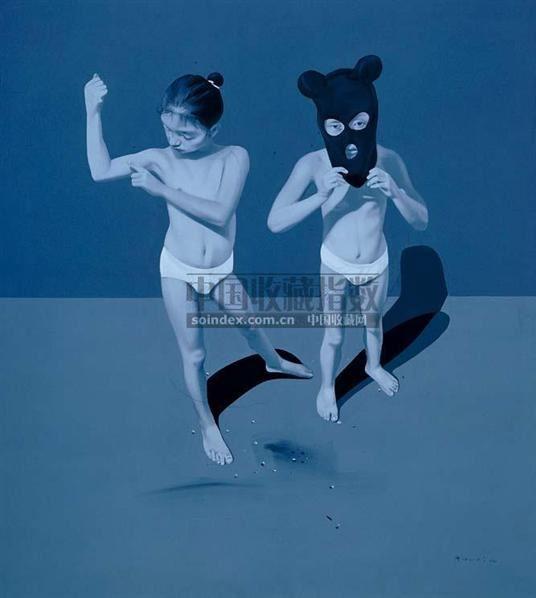郭伟 2004年作 蚊子系列 - 125661 - 亚洲当代艺术 - 2007春季艺术品拍卖会 -收藏网
