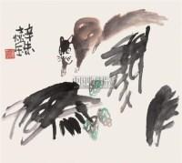 松鼠 镜心 设色纸本 -  - 中国书画 - 2007年秋季大型艺术品拍卖会 -中国收藏网