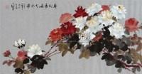 春到长安 镜片 设色纸本 - 罗国士 - 中国书画(一) - 2010年秋季艺术品拍卖会 -中国收藏网