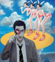 现代文明 布面油画 - 刘大明 - 当代与唯美 中国油画雕塑 - 2008春季大型艺术品拍卖会 -收藏网