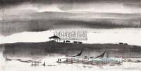 琴瑟图 镜片 纸本 - 冯远 - 中国当代绘画专场(一) - 2011年首届迎春艺术品拍卖会 -收藏网