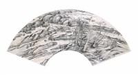 姚华 山水扇面 镜心 水墨纸本 - 71560 - 中国书画(一) - 2006畅月(55期)拍卖会 -收藏网