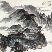 筑宅清溪上 立轴 - 145681 - 中国书画 - 2011秋季艺术品拍卖会 -收藏网