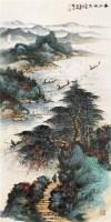 春江放筏图 立轴 - 4438 - 中国书画 - 2011年秋季中国书画拍卖会 -中国收藏网