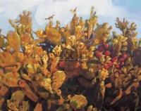 憧憬 油画 框 - 155972 - 油画 中国书画 杂项 - 2008欢乐节艺术品拍卖会 -收藏网