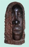 青海湖 乌木 - 154514 - 中国油画 雕塑专场 - 2008年迎春艺术品拍卖会 -收藏网