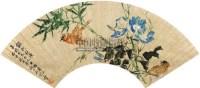 银河秋浅 扇面 纸本 - 何煜 - 中国书画(一)名家扇面及小品专场 - 2011年首届春季大型艺术品拍卖会 -收藏网