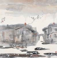 冬季 镜片 设色纸本 - 刘春明 - 中国书画 - 2011年迎春拍卖会 -收藏网