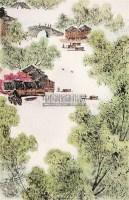 山水 镜心 - 153135 - 中国书画 - 2008春季拍卖会 -收藏网