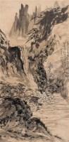 山水 中堂 水墨纸本 - 黑伯龙 - 中国名家书画(二) - 2005春季艺术品拍卖会 -收藏网