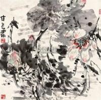 牡丹 - 117457 - 书画精品 - 2011艺术品拍卖会 -中国收藏网
