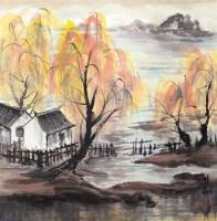 林风眠风景 -  - 书画 - 2008迎春书画艺术精品拍卖会 -收藏网