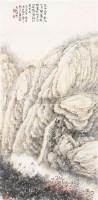 桐江景色 立轴 设色纸本 - 116682 - 中国书画(二) - 2011春季艺术品拍卖会 -收藏网