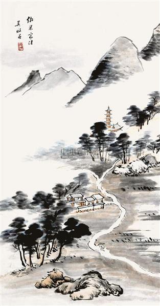 山水 - 117470 - 清秘阁藏字画专场 - 2011秋季拍卖会(一) -中国收藏网