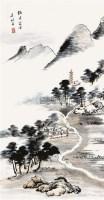 山水 - 117470 - 清秘阁藏字画专场 - 2011秋季拍卖会(一) -收藏网