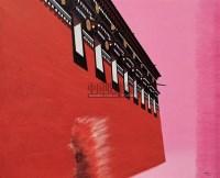 高墙 中国画颜料、丙稀、宣纸、绵布 - 冯斌 - 中国油画及雕塑 - 2005秋季拍卖会 -收藏网