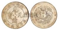 1901年辛丑江南省造光绪元宝库平七钱二分银币一枚 -  - 古钱 银锭 机制币 - 2009秋季拍卖会 -中国收藏网