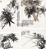 花卉 镜心 设色纸本 -  - 中国书画艺术品(二)专场 - 2011年春季艺术品拍卖会 -收藏网