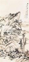 山水 立轴 纸本 - 118955 - 中国书画(一) - 2011春季艺术品拍卖会(一) -收藏网