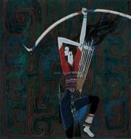 射手 丝网版画  287/300 - 118310 - 中国油画 - 2005秋季大型艺术品拍卖会 -收藏网
