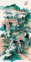青绿山水 立轴 设色纸本 - 147746 - 中国书画艺术品(二)专场 - 2011年春季艺术品拍卖会 -收藏网