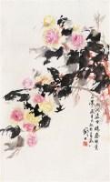 罗国士    花卉 - 罗国士 - 迎春艺术品专场(二) - 2007迎春艺术品专场拍卖会 -收藏网
