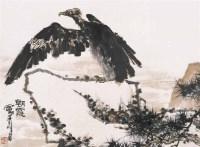 潘天寿 (款) 朝霞图 镜心 设色纸本 -  - 中国书画(一) - 2006畅月(55期)拍卖会 -收藏网