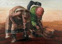耿万义 2003年 青稞的种子 油画 - 耿万义 - 油画专场 - 2006首届艺术品拍卖会 -收藏网