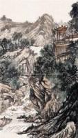 山水 立轴 设色纸本 - 胡若思 - 中国书画 - 2007秋季艺术品拍卖会 -收藏网