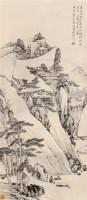 山水 立轴 设色纸本 - 渐江 - 中国书画 - 2007夏季艺术精品拍卖会 -收藏网