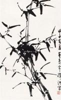 墨竹 立轴 纸本 - 116631 - 中国书画(一) - 2011年春季拍卖会 -收藏网
