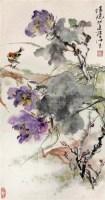 花卉 镜心 设色纸本 - 陈世中 - 中国书画专场 - 2008迎春大型艺术品拍卖会 -收藏网