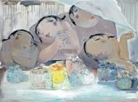 免礼一 油彩 画布 -  - 亚洲现代与当代艺术 - 台北2011秋季拍卖会 -收藏网