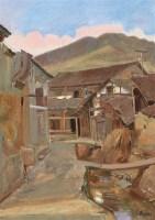 人体 布面 油彩 - 胡建成 - 中国油画及雕塑专场 - 2006年秋季拍卖会 -收藏网