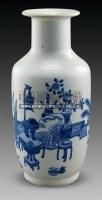 青花博古纹棒槌瓶 -  - 古董珍玩 - 2011春季艺术品拍卖会 -收藏网