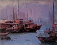 李金明 南海渔港 - 41687 - 广东当代油画名家 - 2007春季拍卖会 -中国收藏网