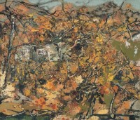 洪凌2005年作 暖阳 布上油彩 - 洪凌 - 西洋美术 - 2006秋季大型艺术品拍卖会 -中国收藏网