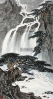 泰岱松泉图 立轴 纸本 - 张登堂 - 中国书画六 - 嘉德四季第二十五期拍卖会 -中国收藏网