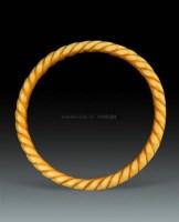 象牙绞丝手镯 -  - 瓷器杂项 - 2010春季艺术品拍卖会 -收藏网