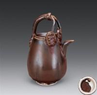 宋 定窑系 酱釉提梁壶 -  - 瓷器 - 2006年金秋珍品拍卖会 -中国收藏网