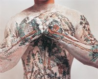 中国山水纹身系列 摄影图片 - 黄岩 - 中国当代艺术 - 大海航行—中国当代艺术秋季拍卖会 -收藏网