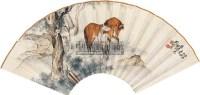 马 扇面 设色纸本 - 119254 - 书画专场 - 2011年夏季艺术品拍卖会 -收藏网