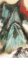 西岳太华 镜心 纸本 - 4513 - 中国书画(一) - 2011首届秋季艺术品拍卖会 -收藏网